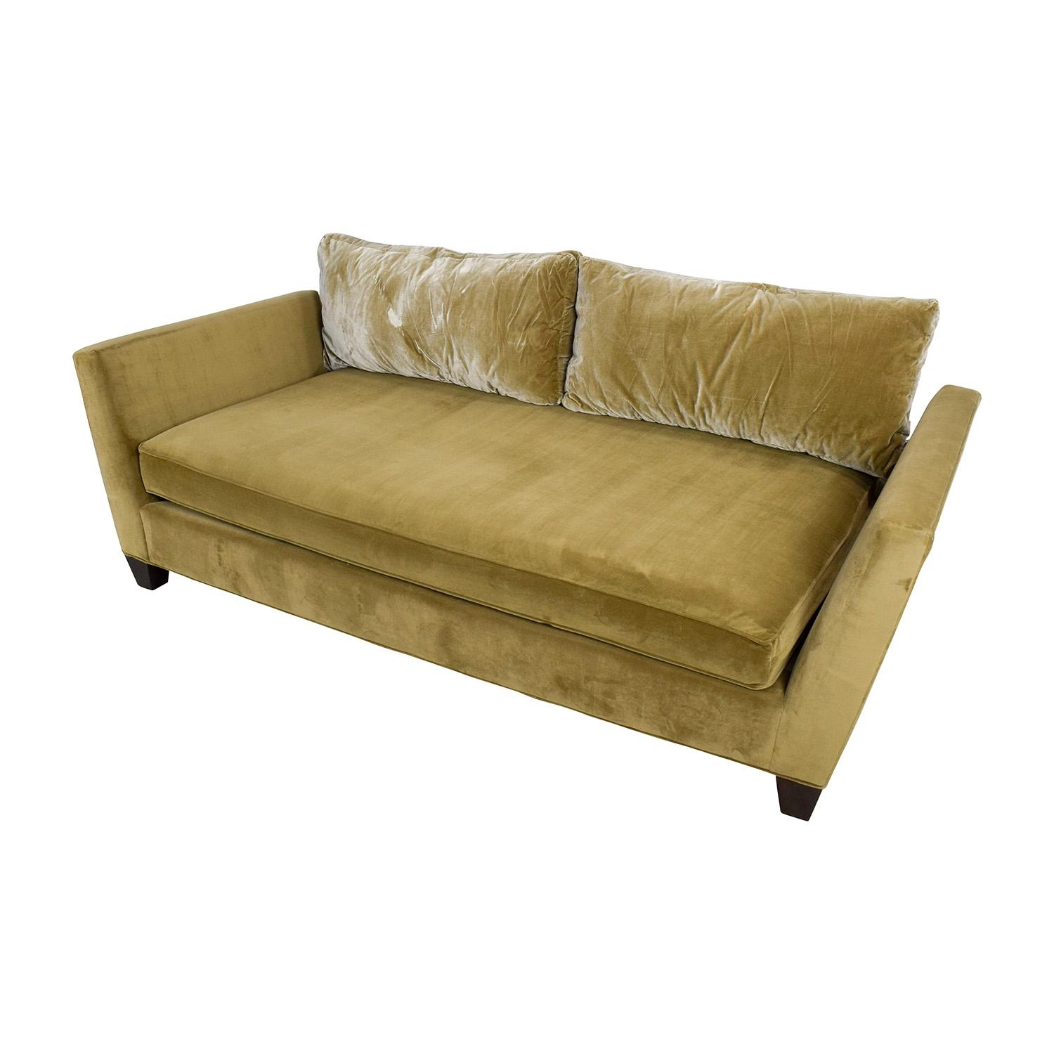 crate and barrel karnes sleeper sofa review 3 cushion slipcover futon