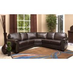 Abbyson Living Berkshire Italian Leather Sectional Sofa China Sofascore 20 Best Ideas Sofas