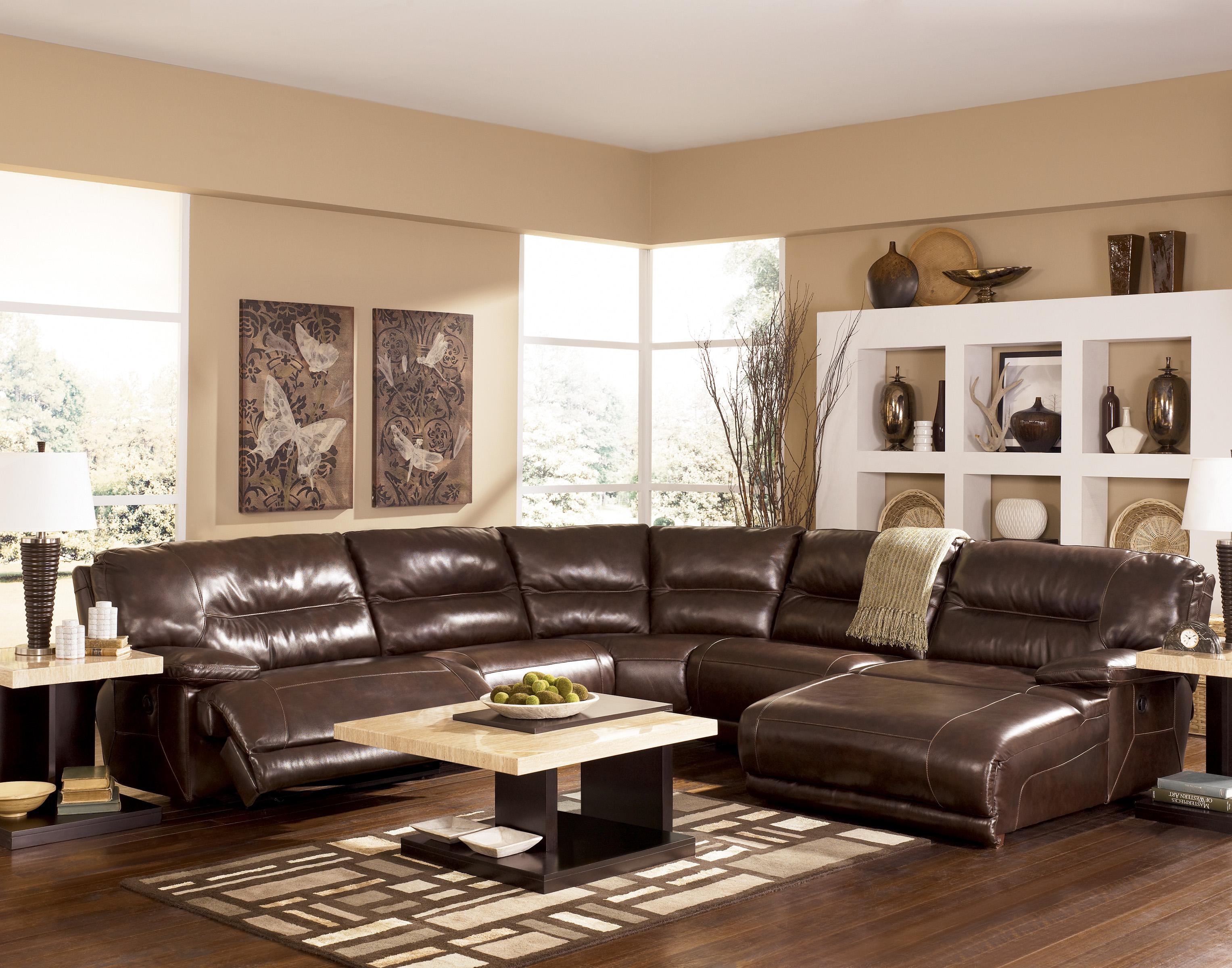 Ashley Furniture Leather Chair 20 Top Ashley Furniture Leather Sectional Sofas Sofa Ideas