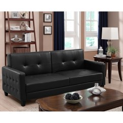 Atherton Home Soho Convertible Futon Sofa Bed And Lounger Tradional Sofas 20 Top Faux Leather Ideas