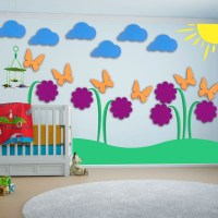 Creative Kids Wall Art Ideas | Custom Home Design