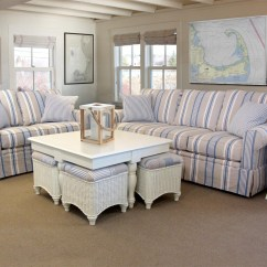 White And Blue Sofa Cheap Bed Couches 20 Top Striped Sofas Ideas