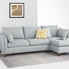 Bari Corner Sofa Bed Review Left Arm Facing 20 Best Collection Of Blue Grey Sofas Ideas