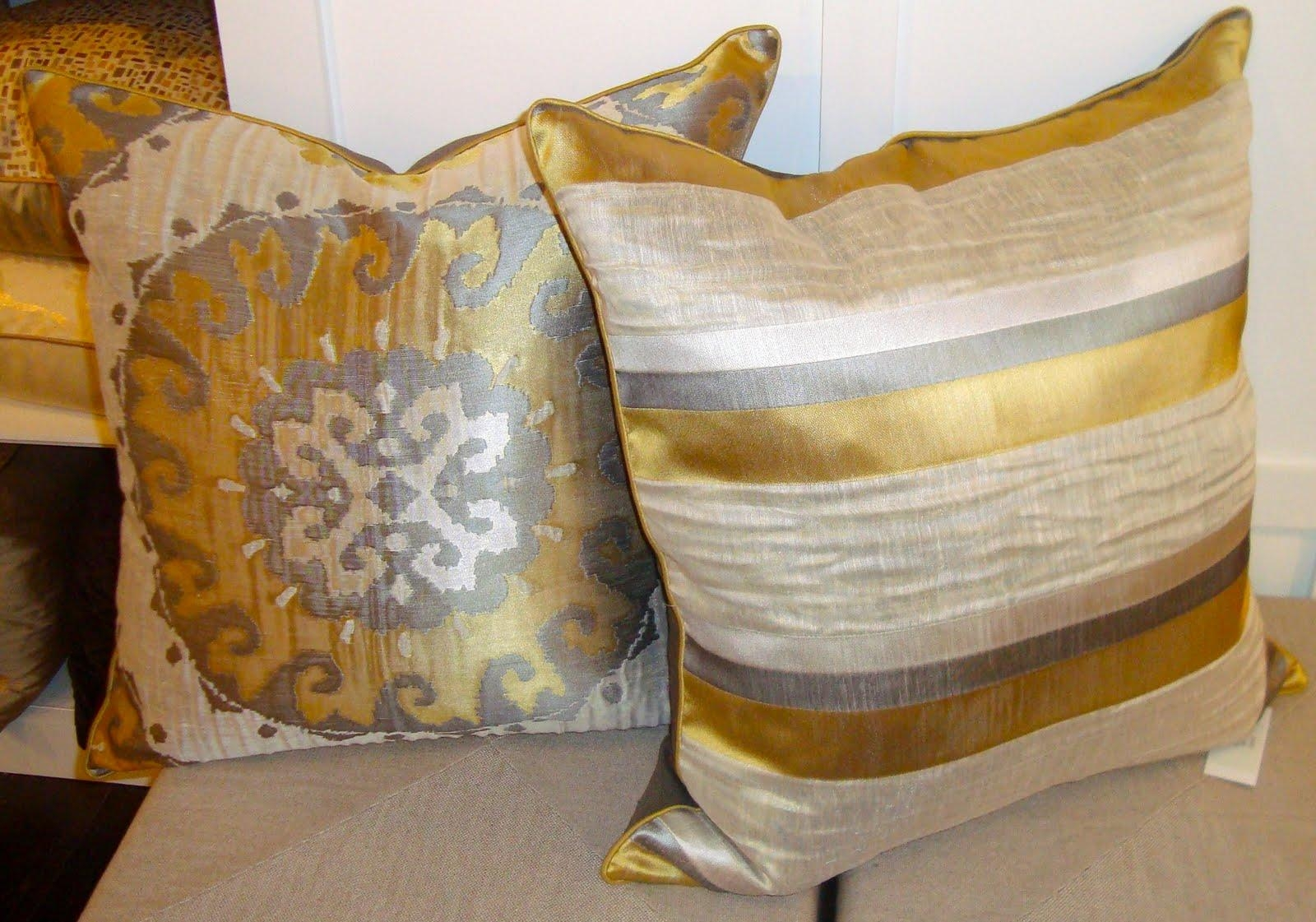 gold sofa throw pillows country uk decor pretty for home