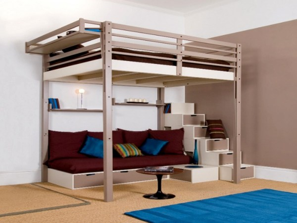 Full Size Loft Bed Adult