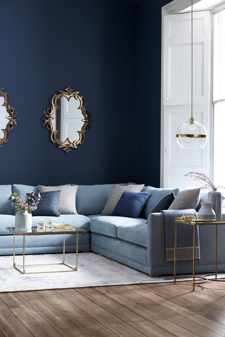 sofa couch brisbane soft line cama 20 best living room with blue sofas | ideas