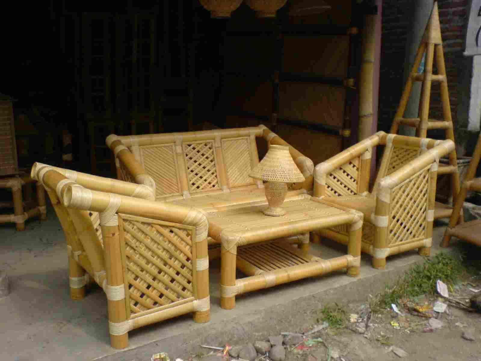 cane sofa cost in hyderabad cars flip open bed bamboo sofas set online ping price