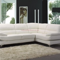 Cosmo Black Leather Sofa Rio Brown Corner Bed 20 Best Collection Of White Ideas