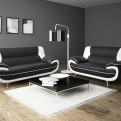 Black And White Leather Sofa Blue Striped Sectional 2018 Latest Sofas Ideas