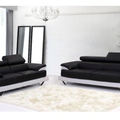 Black And White Leather Sofa Beds Furniture 2018 Latest Sofas Ideas