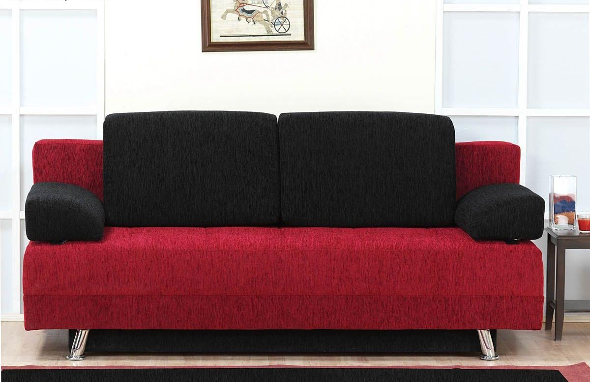 black leather sofa design ideas calico bed and red set bonded