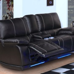 Black Reclining Sofa With Console Ashley Brown Microfiber 20 Best Sofas Ideas