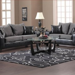 Sofa And Loveseat Set Up How To Replace Springs On 20 Ideas Of Black Vinyl Sofas