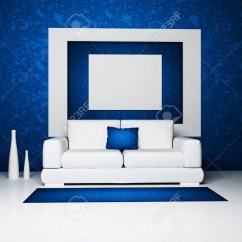 White And Blue Sofa Inflatable Air Couch 20 Best Sofas Ideas