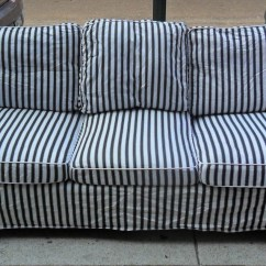 Navy Blue Striped Sofa Dfs Rapide Corner Review 20 Top And White Sofas Ideas