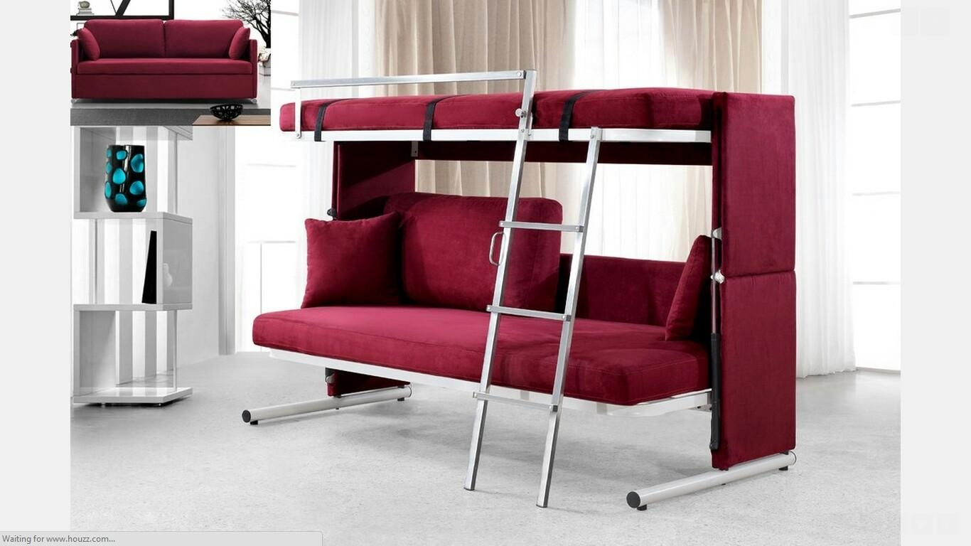 Chair Converts To Bed 20 Collection Of Sofas Converts To Bunk Bed Sofa Ideas