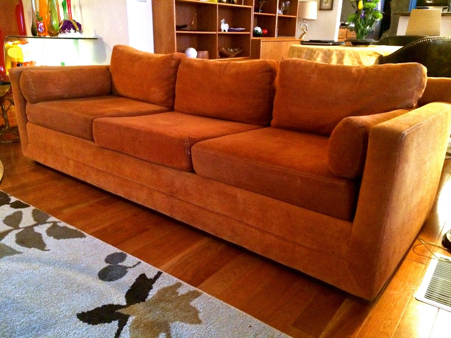 orange color sofa best fabric for toddlers 20 burnt sofas ideas