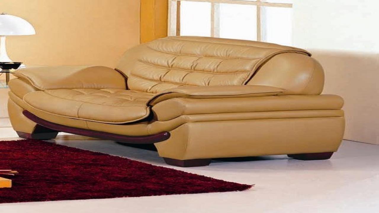 2018 Latest Camel Colored Leather Sofas  Sofa Ideas
