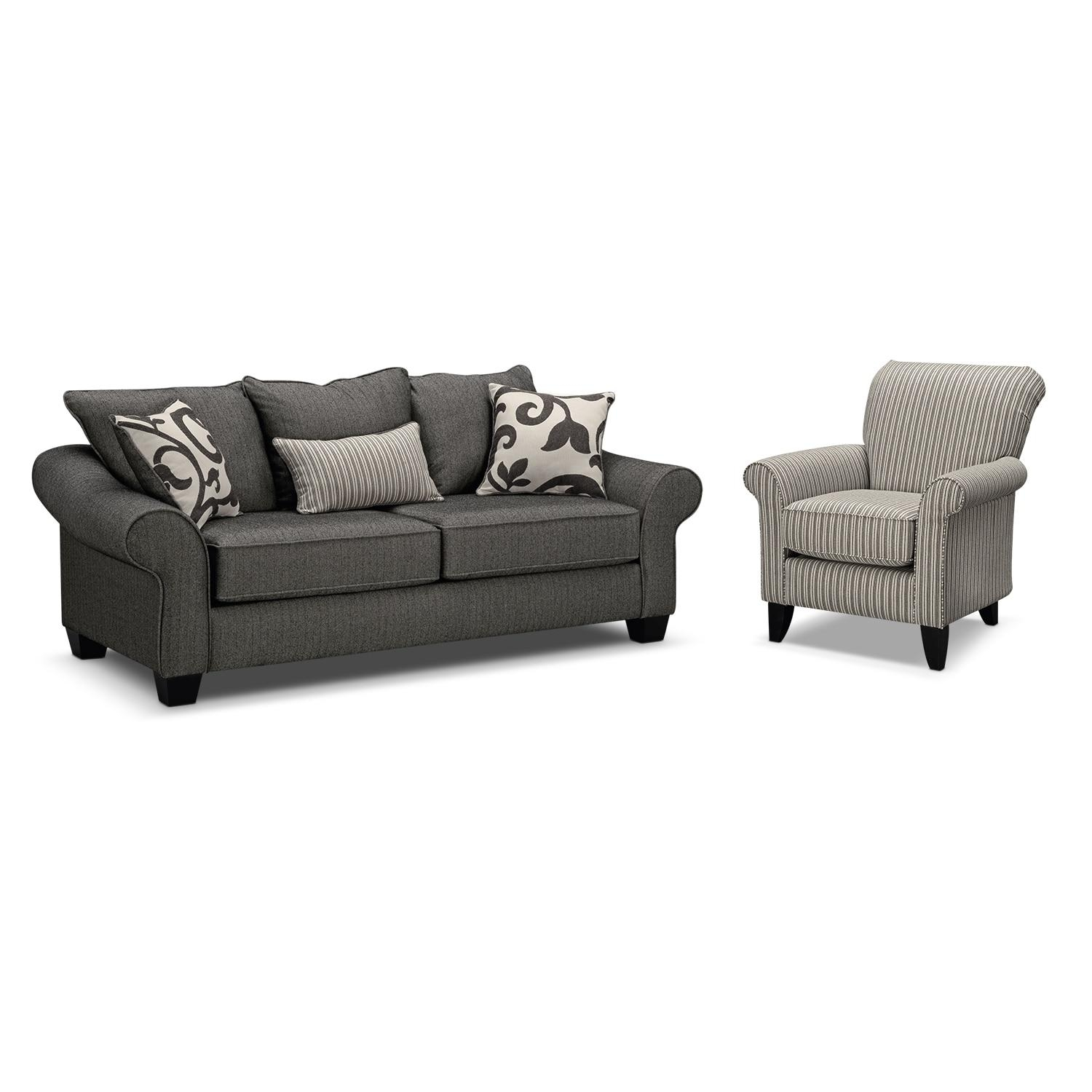 accent sofa bergamo extended sectional leather modern 20 photos and chair set ideas