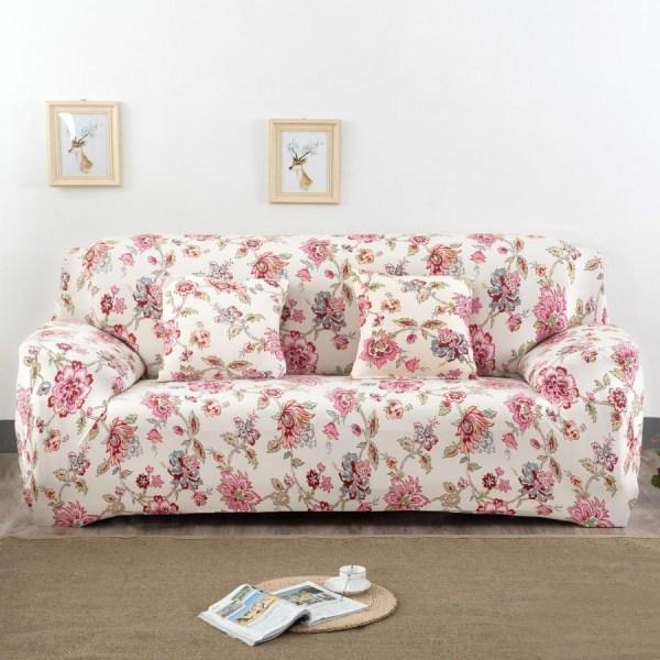 Printed Fabric Sofa Cover