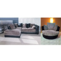 20 Photos Corner Sofa and Swivel Chairs | Sofa Ideas