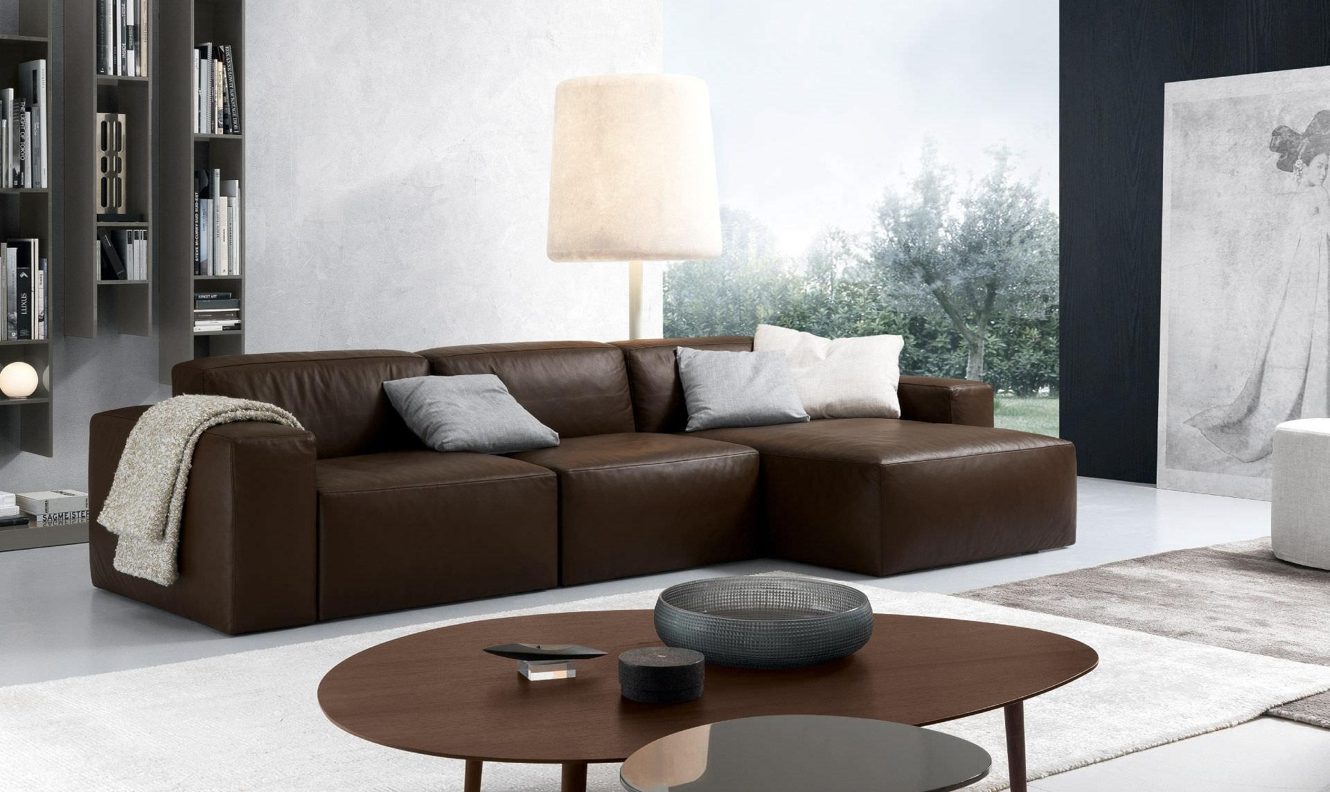 leather sofa brown contemporary surfing london 20 best sofas ideas