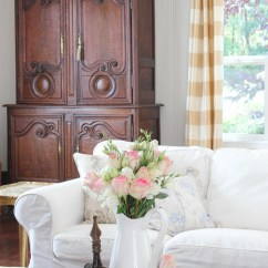 White Slipcovered Sofa Living Room Paint Ideas With Trim 20 Top Country Cottage Sofas And Chairs |