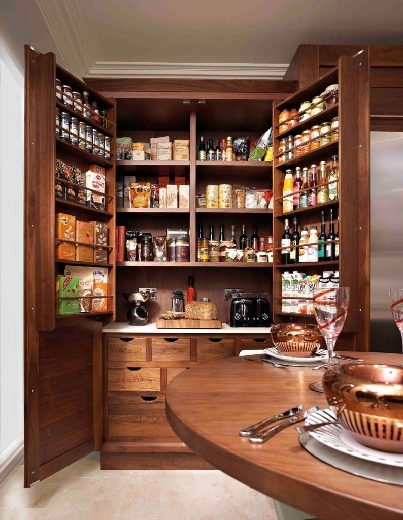 Pantry Cabinets To Utilize Your Kitchen  Custom Home Design
