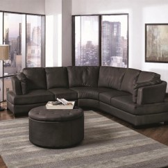 Curved Sectional Sofa Set Emily Henderson Bed 15 Collection Of With Recliner