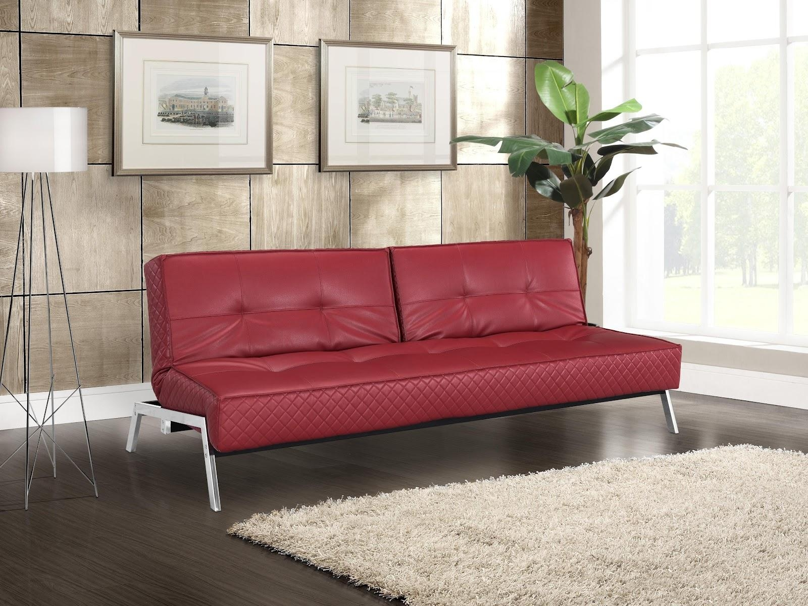 black and red leather sofa cushion covers big size 20 photos dark sofas ideas