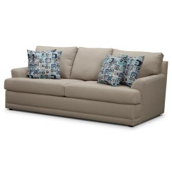 Davis Leather Twin Sleeper Sofa Bianca Domayne 20 Collection Of Sofas Ideas