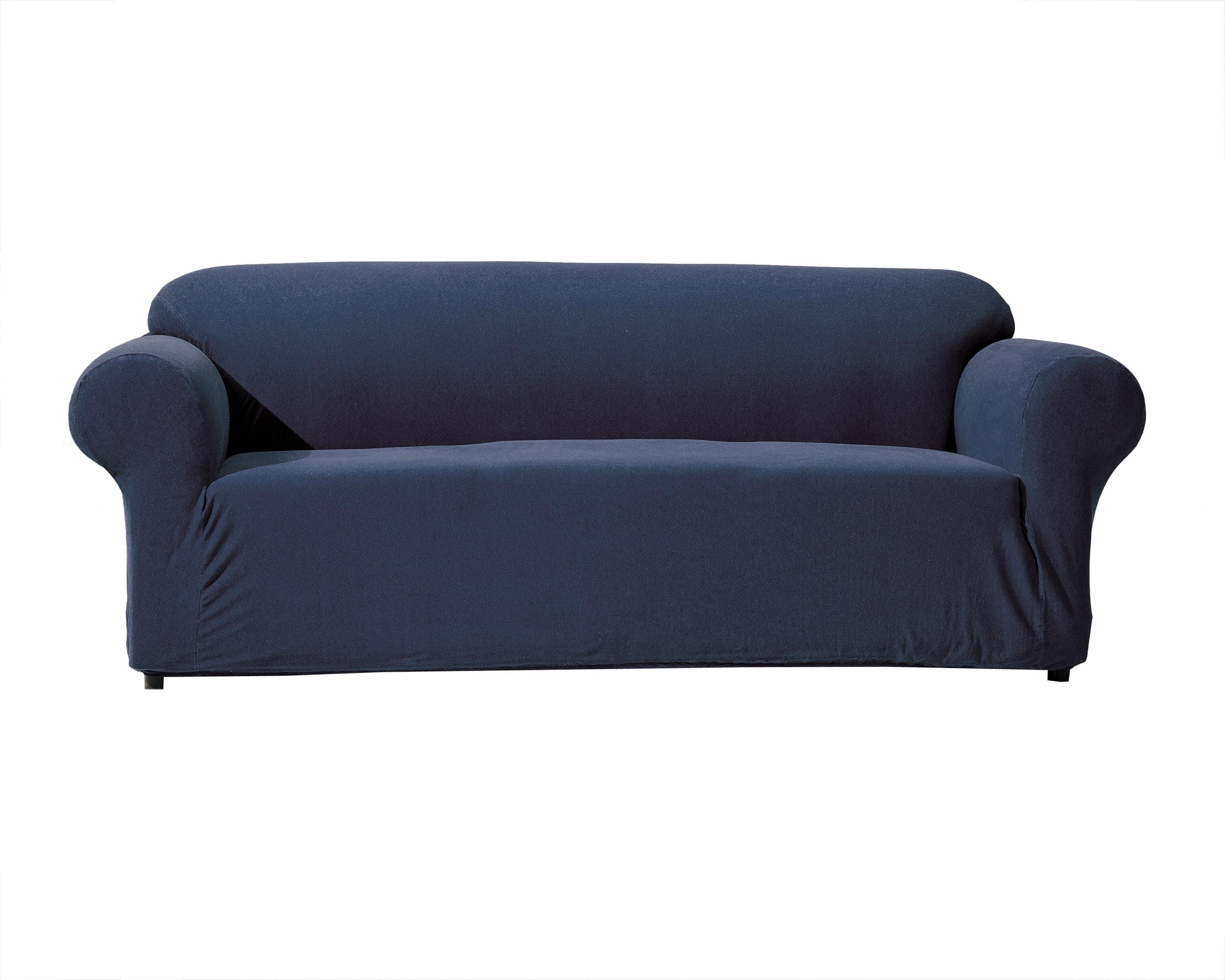 sofa free shipping europe sofas nyc midtown denim stretch slipcover home the honoroak