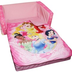 Disney Princess Flip Out Sofa With Slumber Bag Decorating Brown Leather Sofas 20 Top Open Ideas