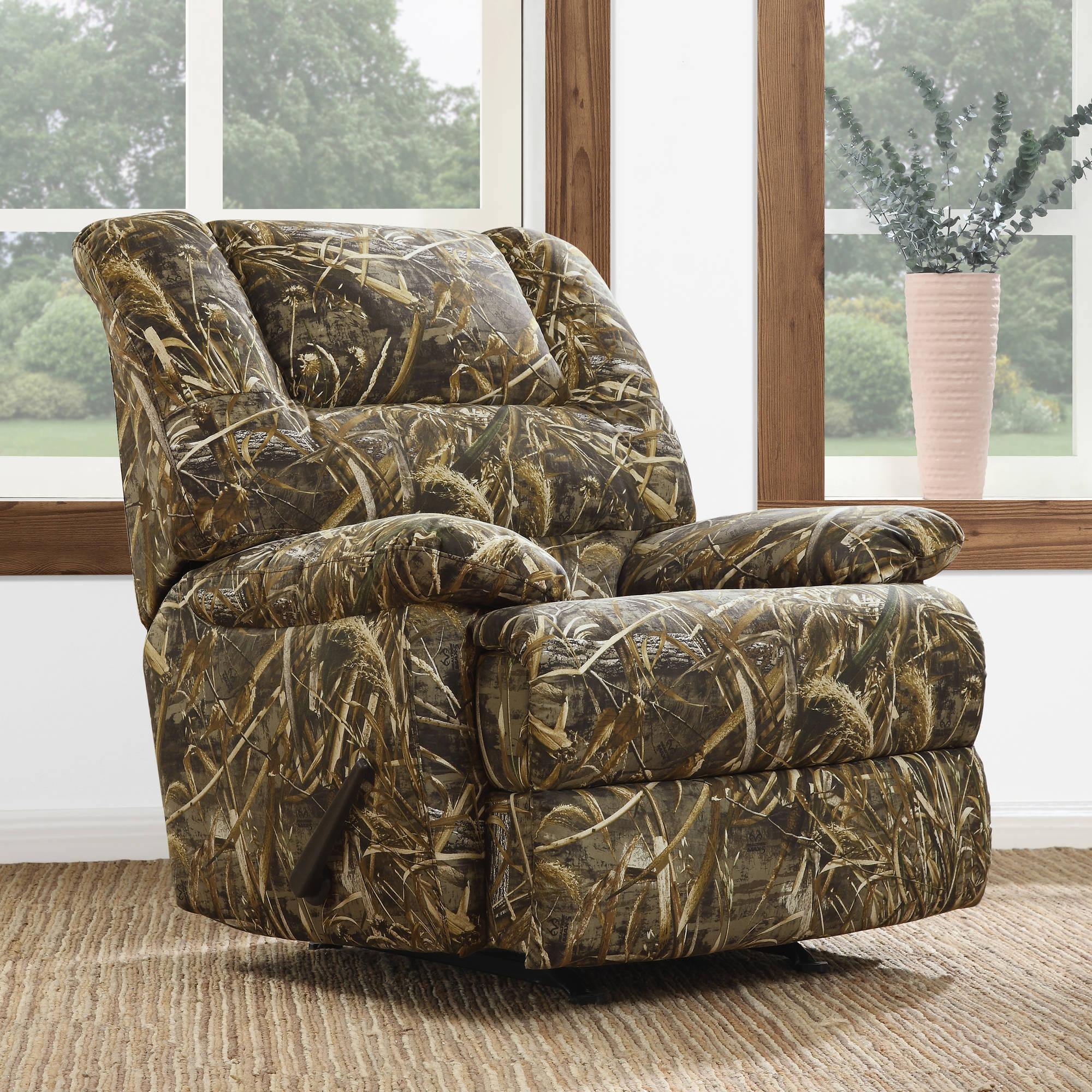 Realtree Chair 20 Inspirations Camo Reclining Sofas Sofa Ideas