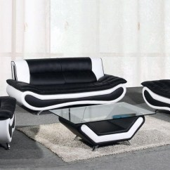 Black And White Leather Sofa So Ben 2018 Latest Sofas Ideas
