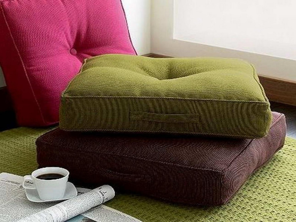 How To Decorate Room With Floor Pillow  Custom Home Design