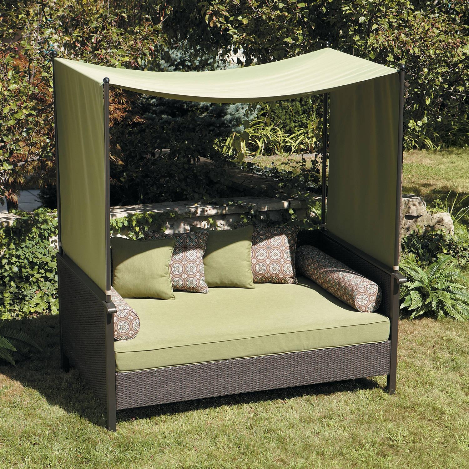 Outdoor Chair With Canopy 20 Photos Outdoor Sofas With Canopy Sofa Ideas