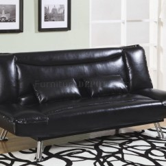 Sofa Bed Black Faux Leather Velvet Covers Online 20 Ideas Of Convertible Sofas