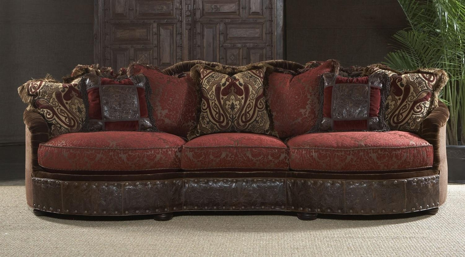 fancy sectional sofas 4 seater fabric sofa bed 20 best collection of burgundy | ideas