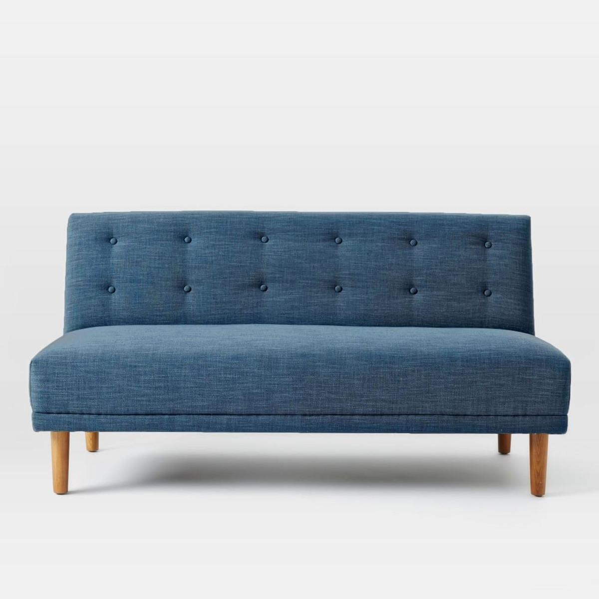 20 best small armless sofa