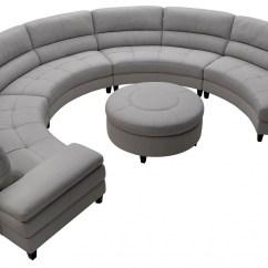Circular Sofas Delange Power Reclining Sofa Reviews 20 Photos Round Ideas