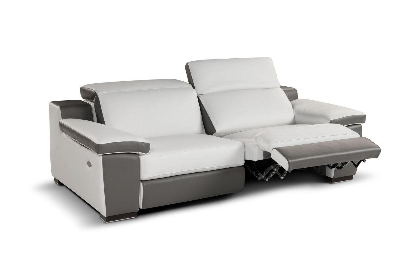 contemporary reclining sofa leather how much does it cost to reupholster a and loveseat 20 ideas of modern sofas