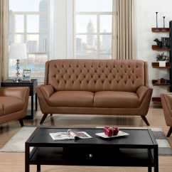 Vine Brown Leather Tufted Sofa Style Trundle Bed 20 Top Sofas Ideas