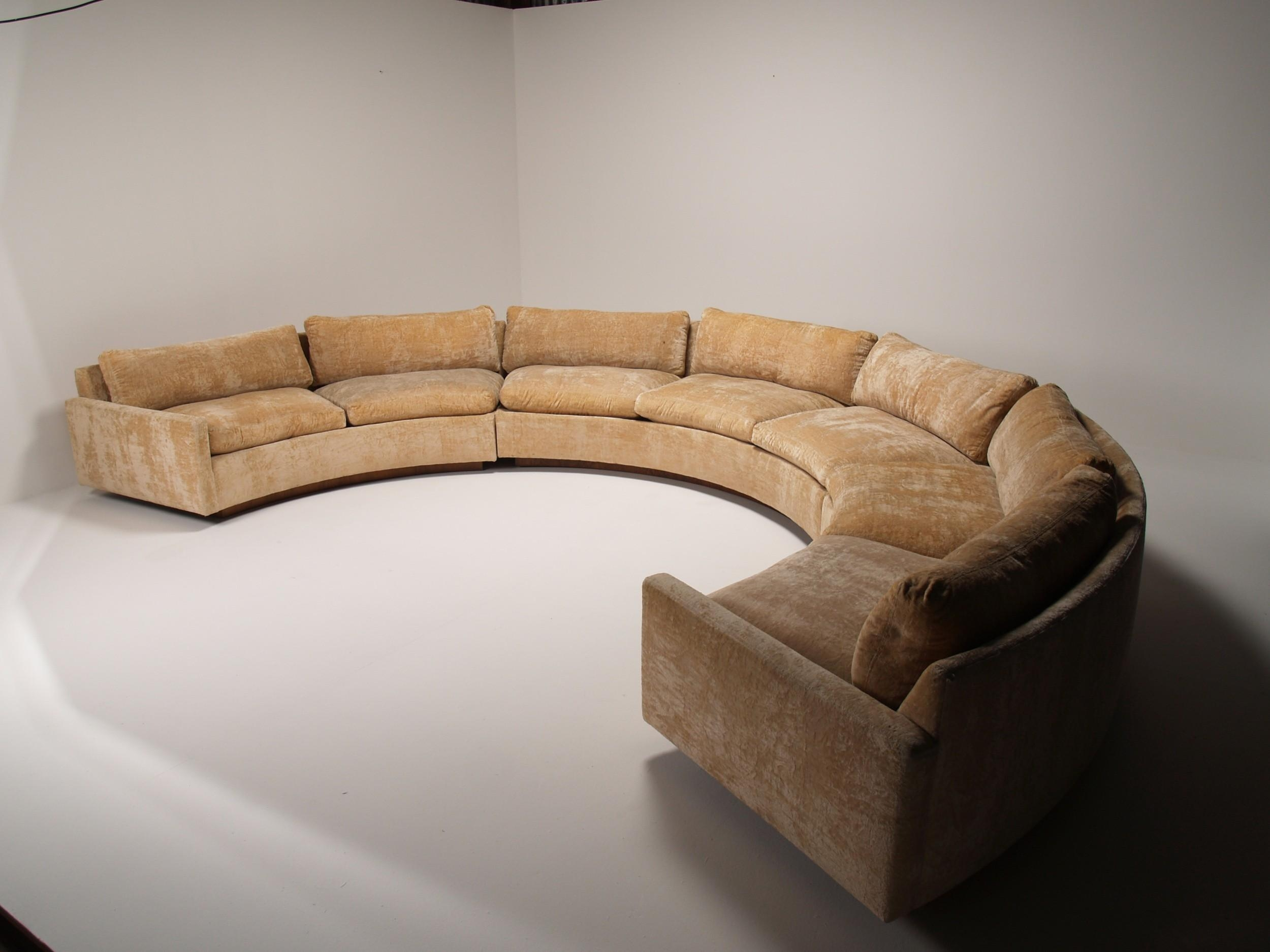 circular couches living room furniture decorating ideas 2018 latest leather curved sectional | sofa