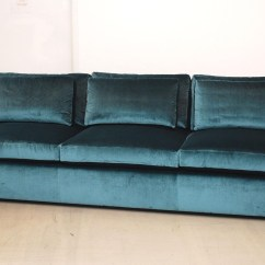Velvet Sectional Sofa Couch Online Pintuck Gray Tufted Foter Thesofa