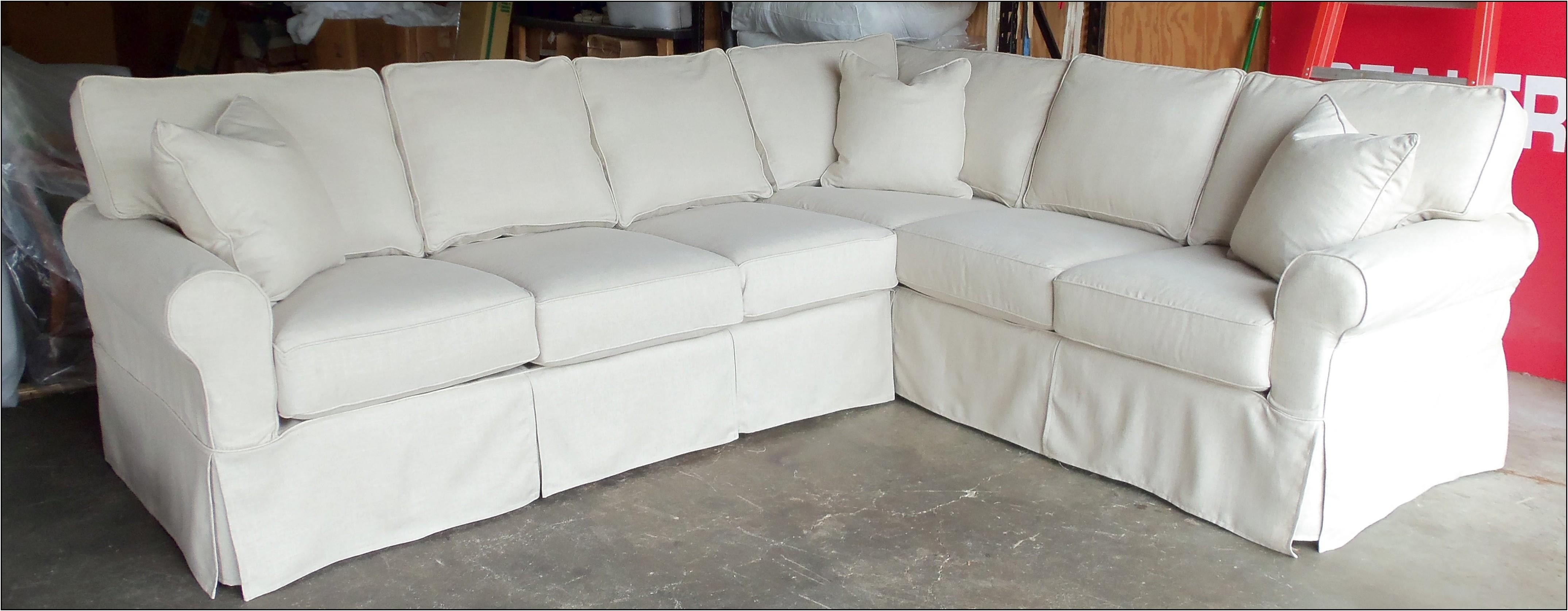 sleeper sofa pottery barn brown leather paint 2019 latest 3 piece sectional ideas