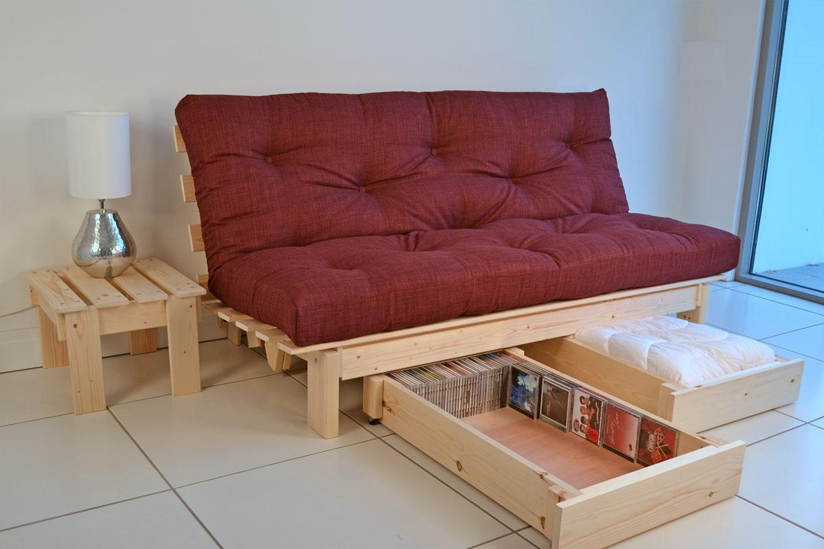 20 Ideas of Sofa Beds With Storage Underneath