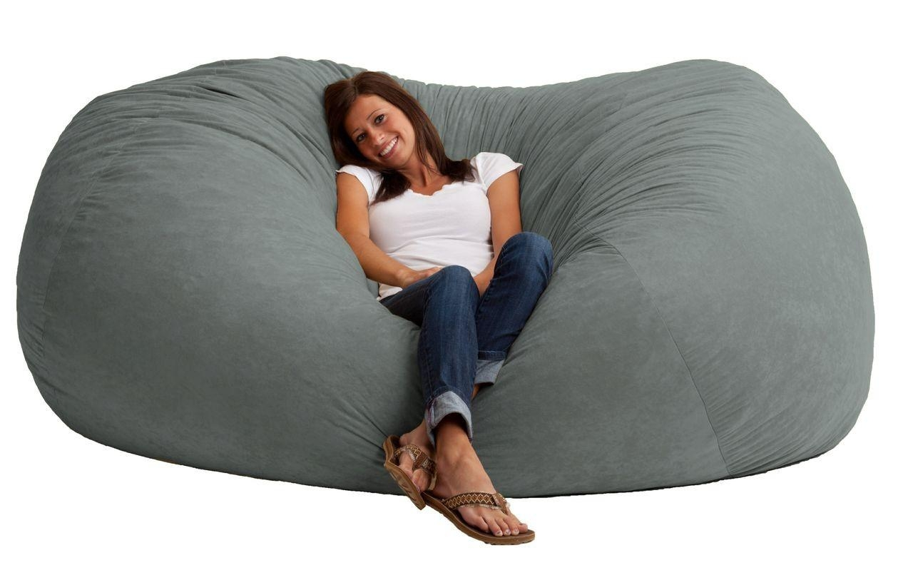 Huge Bean Bag Chairs 20 Best Collection Of Giant Bean Bag Chairs Sofa Ideas