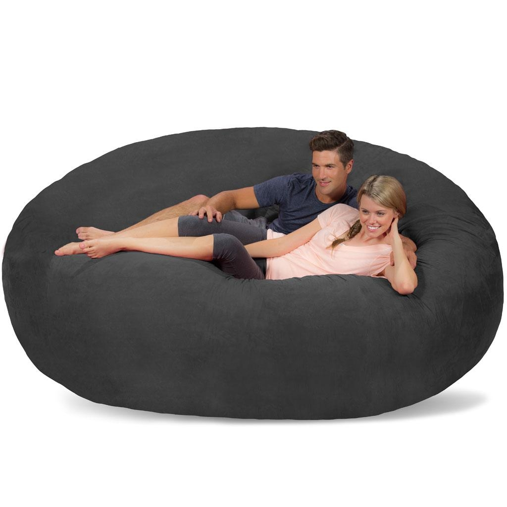 Extra Large Bean Bag Chairs 20 Best Collection Of Giant Bean Bag Chairs Sofa Ideas