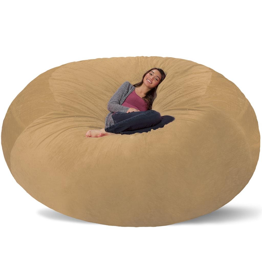 bean bag chair bed danish modern rocking 20 best collection of giant chairs sofa ideas